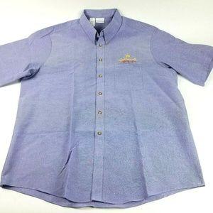 Disney Image Maker Men's XL Blue Hallmark Shirt